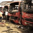 Bomb attack by Islamist extremist group Boko Haram in Abuja, Nigeria on April 14, 2014. (Wikipedia, VOA)