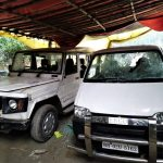 Hindu extremists damaged cars in attack on home of pastor P.J. Johnson in Rajasan, Bihar state. (Morning Star News)