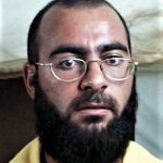 Mugshot of Abu Bakr al-Baghdadi taken by U.S. armed forces while he was detained at Camp Bucca near Umm Qasr, Iraq, in 2004. (U.S. Army)