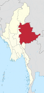 Shan state, Burma. (TUBS, Wikipedia)