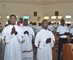 Seminarians at The Good Shepherd Catholic Major Seminary in Kaduna, Nigeria. (Courtesy of Good Shepherd seminary)