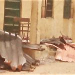 Destruction after kidnapping of Chibok high school girls in April 2014. (Voice of America, Yaroh Dauda)