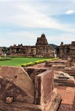 Hindu and Jain temples from seventh to ninth centuries in Pattadakal, Karnataka, India. (Wikipedia, Ms. Sarah Welch)
