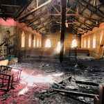 Remains of EYN church in Garkida, Adamawa state, Nigeria. (Facebook, Save the Persecuted Church)