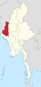 Chin state, Burma. (Wikipedia, TUBS)