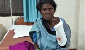 Podiya Tati's mother, Jimmey Tati, was attacked in Chhattisgarh state, India. (Morning Star News)