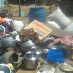 Animist villagers threw belongings of Sodi family out of their home in Odisha state, India. (Morning Star News)