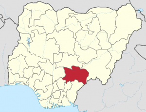 Benue state, Nigeria. (Profoss, from original by Uwe Dedering)