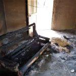Home burned in herdsmen attack on Angwan Magaji Kamaru village, Kaduna state, Nigeria. (Morning Star News)