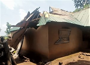 Destruction by Muslim Fulani herdsmen in Ungwan Anjo village, Kaduna state, Nigeria. (Morning Star News)