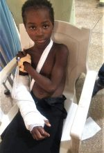 Filibus Magaji, 12, one of the victims of the recent herdsmen attacks in Kaduna State. (Facebook)