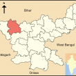Palamu District in Jharkhand state, India. (Joy 1963)