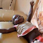 Elizabeth Samaila, 3, was injured in Muslim Fulani herdsmen attack on Tudun Doka village, Nigeria. (Alheri Magaji for Morning Star News)