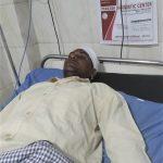 Pastor Dinesh Kumar in private hospital in Mau, Uttar Pradesh, India. (Morning Star News)