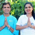 Pastor Kesha Raj Acharya and his wife Junu after his release on bail in Nepal. (Morning Star News)