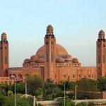 Grand Jamia Masjid in Bahria, Lahore, Pakistan. (Meemjee)