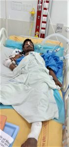 Hindu extremists beat Pappu Kumar with iron rods in Uttarakhand state, India. (Morning Star News)