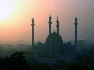 National Mosque in Abuja, Nigeria. (Wikipedia)