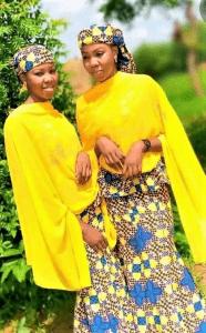 Hassana and Hussaina Garba, Christian twin sisters kidnapped in Katsina state, Nigeria (Facebook)