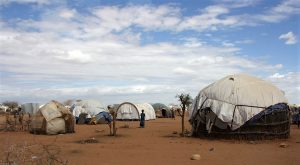 Dadaab refugee camp in northern Kenya. (DFID – UK Department for International Development)