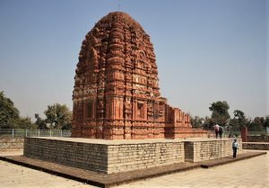 Laxman temple in Sirpur, Chhattisgarh state, India. (Mohnish1208)