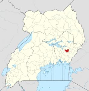 Kibuku District, Uganda. (OpenStreetMap contributors, Jarry 1250, NordNordWestWikipedia)