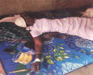 Zubeda Nabirye after treatment for assault in Matovu village, eastern Uganda. (Morning Star News)