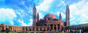 Bahria Mosque, Lahore, Pakistan. (Tariq Abdullah, Creative Commons)