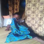 Mansitula Buliro said her husband cut her mouth and divorced her, (Morning Star News)