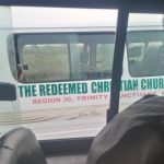 Traveler took photo of abducted Christians' abandoned bus on Kachia-Kafanchan highway on Friday (March 26, 2021). (Facebook)