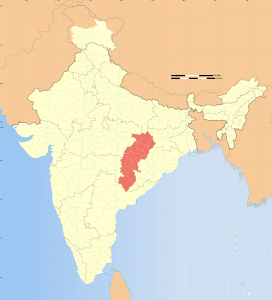Chhattisgarh state, India. (CC-by-sa PlaneMad Wikimedia)
