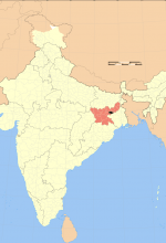 Jharkhand state, India. (Haros based on map created by w user Nichalp & w user planemad)