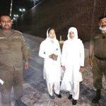 Mariam Lal and Navish Arooj taken into custody in Faisalabad, Pakistan on April 9, 2021. (Morning Star News)