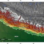 Nepal topographical map. (Creative Commons)