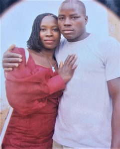 Monday Yakubu (here with wife) was killed in Kpachudu village, Nigeria on May 21, 2021. (Morning Star News courtesy of family)