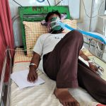 Pastor Ramnivas Kumari contracted COVID-19 after assault in Bihar state, India in April 2021. (Morning Star News)
