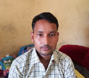 Officers at the Shyampur police station allegedly beat pastor Sanjay Kumar Bharati in Uttarakhand state, India in June 2021. (Morning Star News)