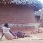 Harriet Nanzala rests alongside her daughter in eastern Uganda. (Morning Star News)