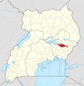 Pallisa District, Uganda. (OpenStreetMap contributors, Jarry1250, NordNordWest)