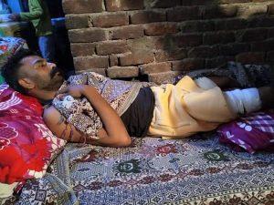 Asif Masih was shot when Muslim gunmen attacked Lahore, Pakistan's Sherakot area on Sept. 6, 2021. (Morning Star News)