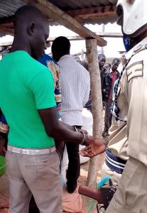 Faluku Gaju is arrested in Namakoko B village, Uganda, in connection with the killing of pastor Barnabas Musana. (Morning Star News)